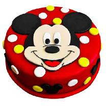 Lovely Mickey Mouse Cake
