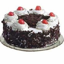 Black Forest Cake In Round