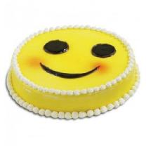Smiley Chocolaty Sponge Cake