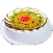 Fresh Fruit Pudding Cake