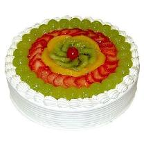 Fruit Cake With Jelly Cake
