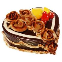 Affair Cake With Choco Flower
