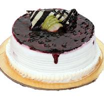 Creamy Blueberry Cake