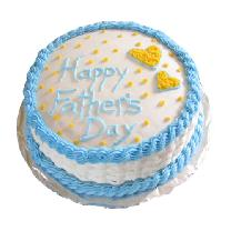 Vanilla Cake For Fathers Day
