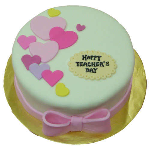 Fresh teachers day cake | Free Shipping in 3 Hrs.